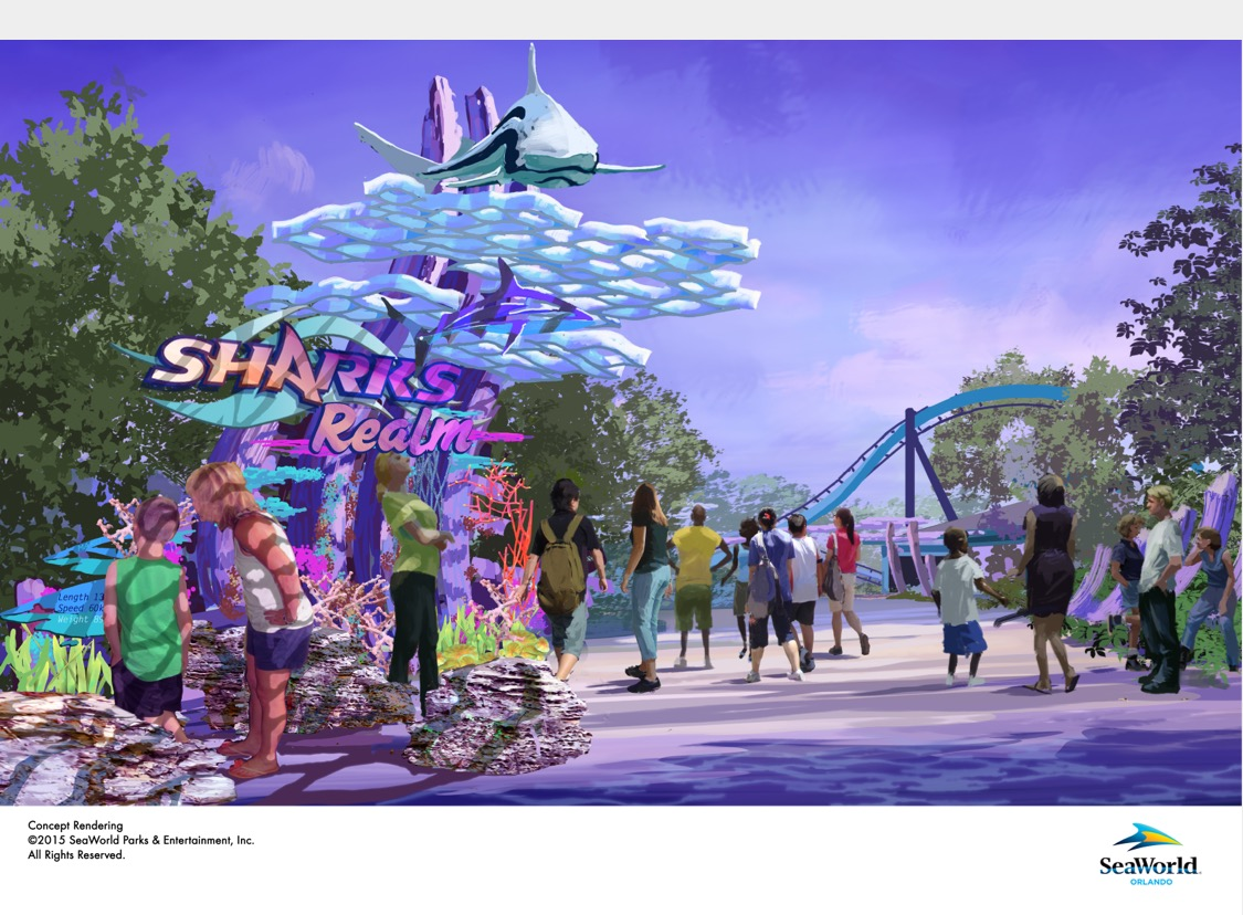 SeaWorld Orlando Mako Shark Realm Announcement
