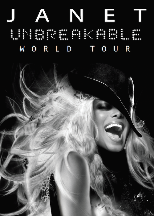 Janet Jackson Unbreakable World Tour Image