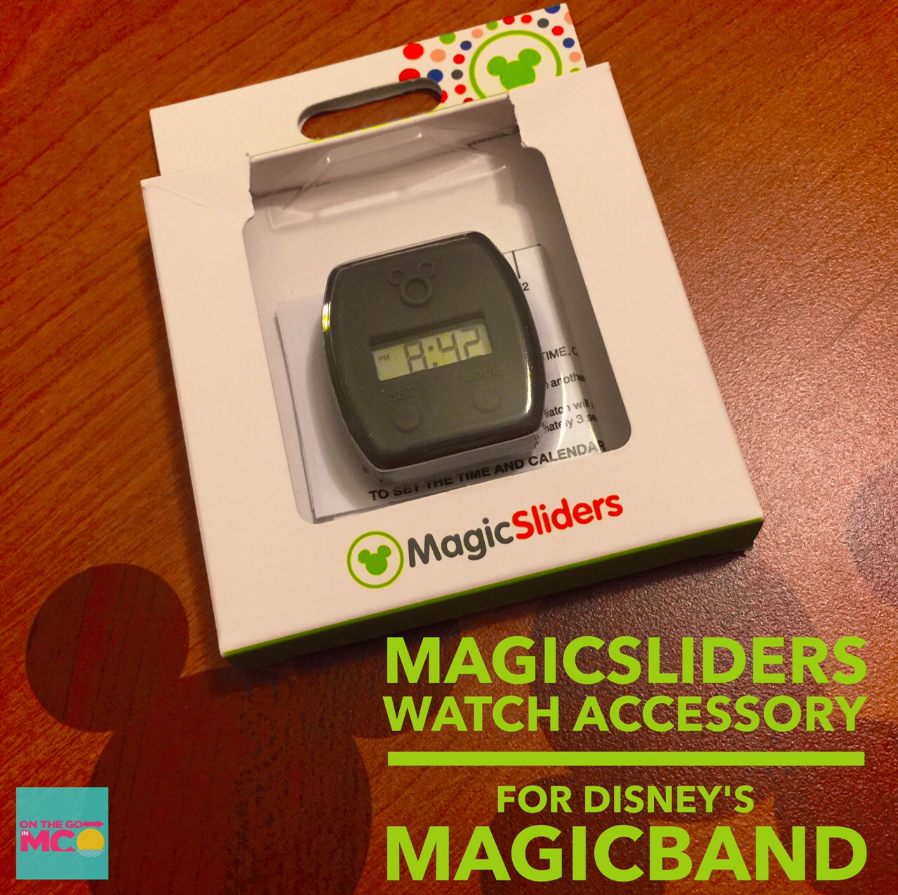 MagicSliders Watch MagicBand Accessory