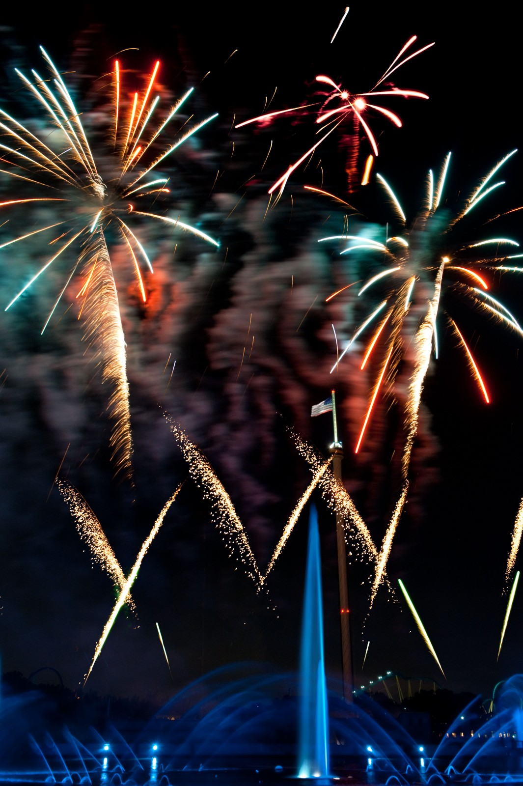 SeaWorld Orlando Fourth of July Summer Nights 2015