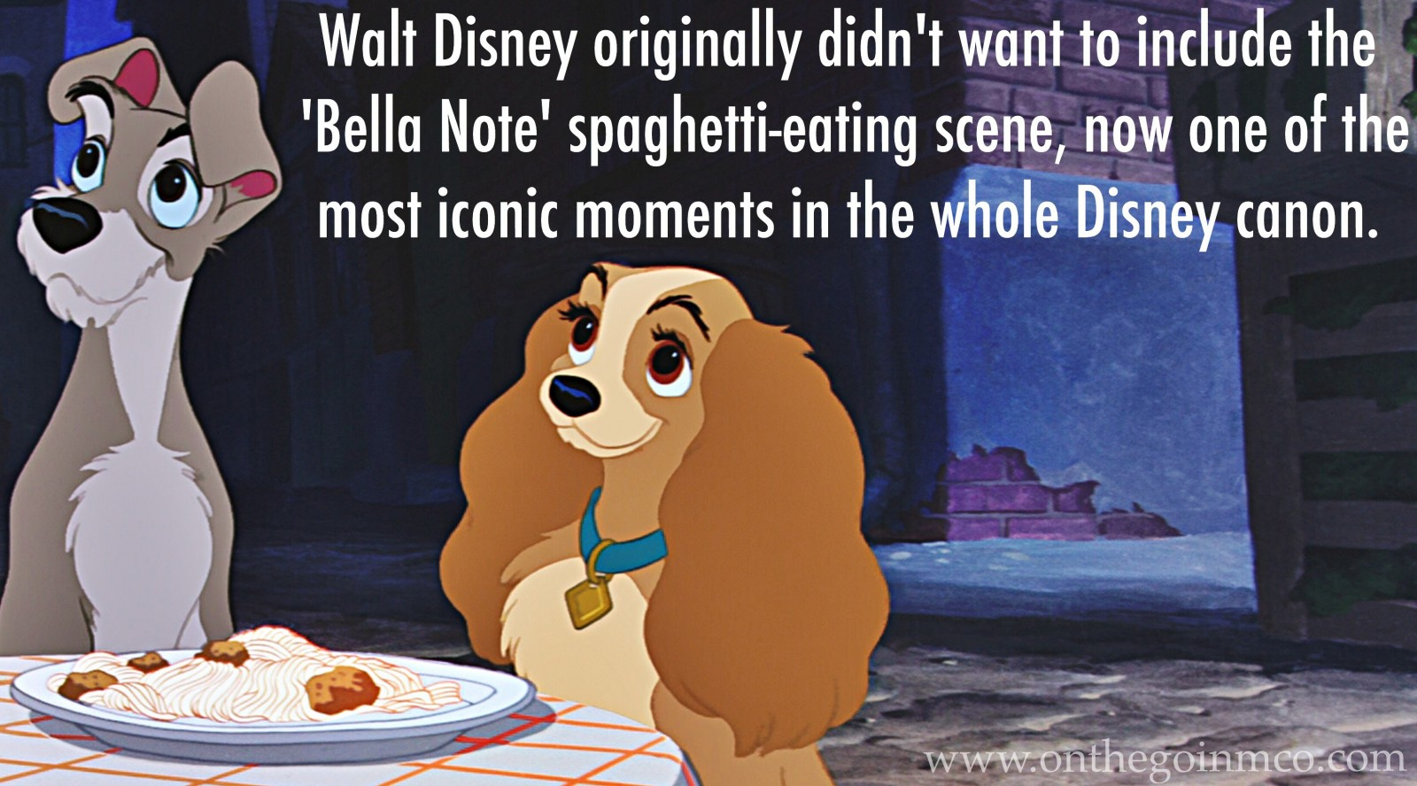 Fun Facts Lady and the Tramp D23 Fanniversary Home Edition Bella Note