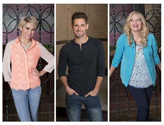 D23 Expo ABC Family Baby Daddy Jean-Luc Bilodeau Chelsea Kane Melissa Peterman