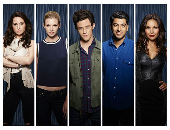 D23 Expo ABC Family Stitchers Emma Ishta Kyle Harris Ritesh Rajan Salli Richardson-Whitfield Allison Scagliotti