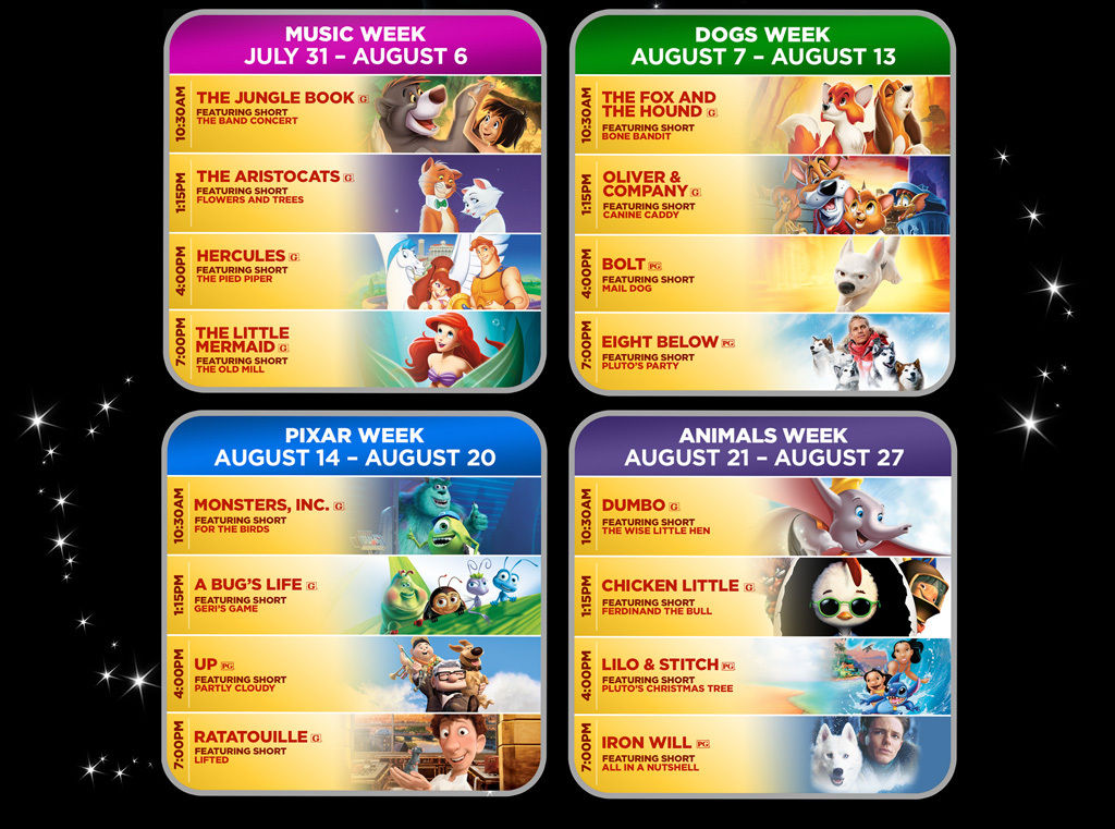Disney Screen August 2015