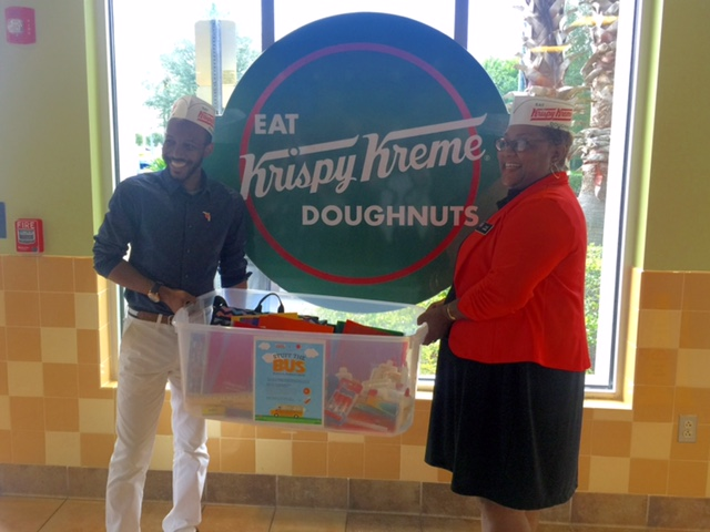 Krispy Kreme Stuff the Bus  The Salvation Army