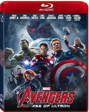 Marvel Avengers Age of Ultron DVD BluRay
