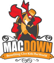 O-Town Mac Down Logo Give Kids the World Village