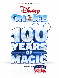 Disney On Ice celebrates 100 Years of Magic Show Logo SF