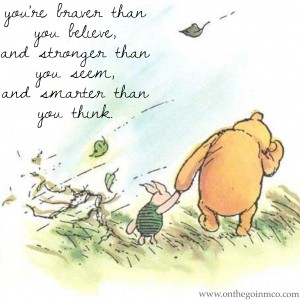 Disney Quotes Motivating Monday Winnie the Pooh