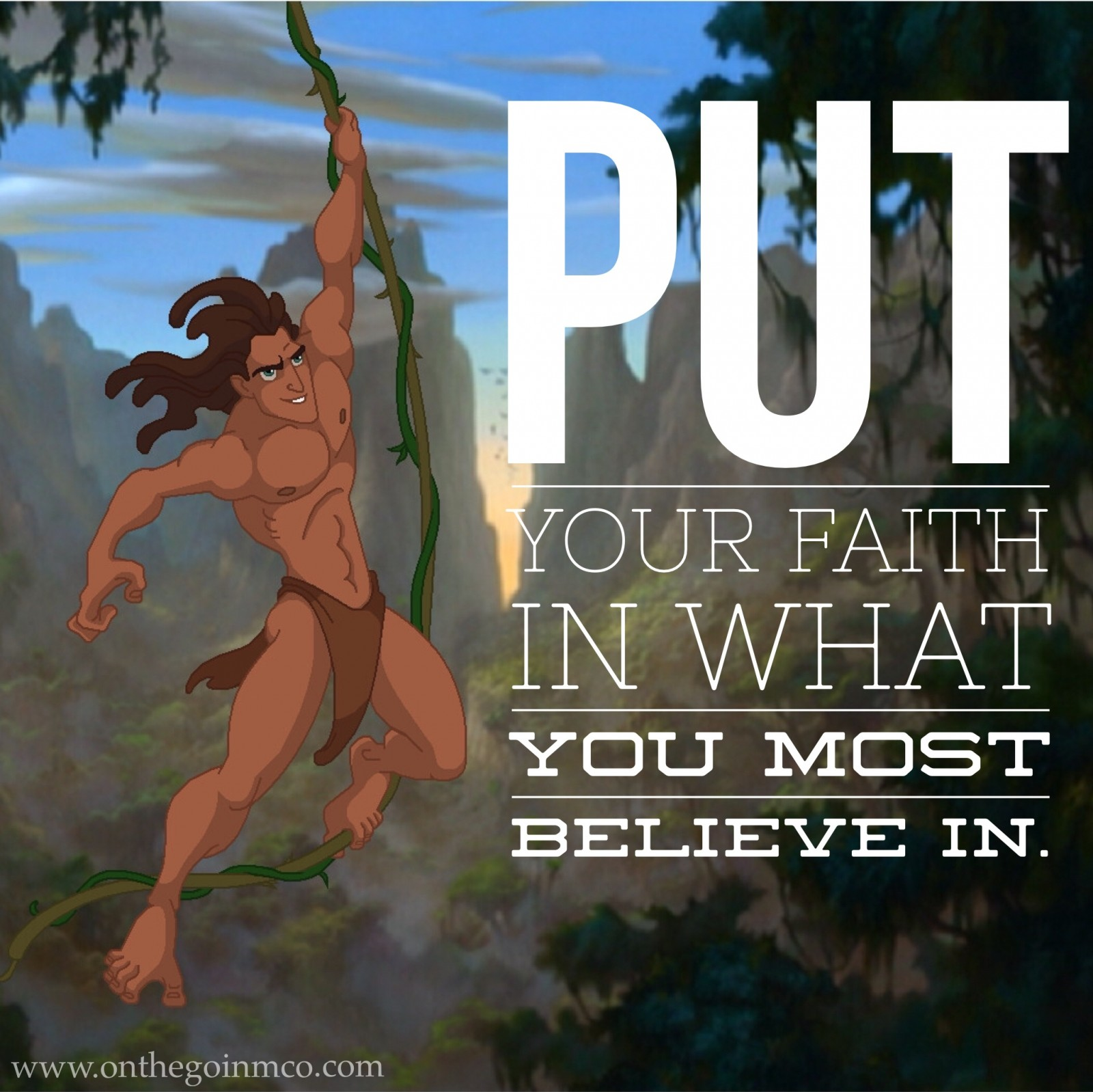 Disney Quotes Motivating Monday Tarzan