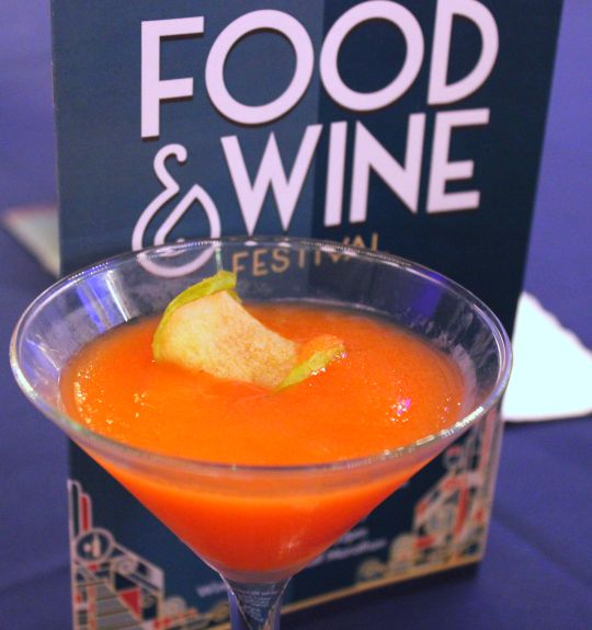 2015 Epcot Food and Wine Festival - Chewtini