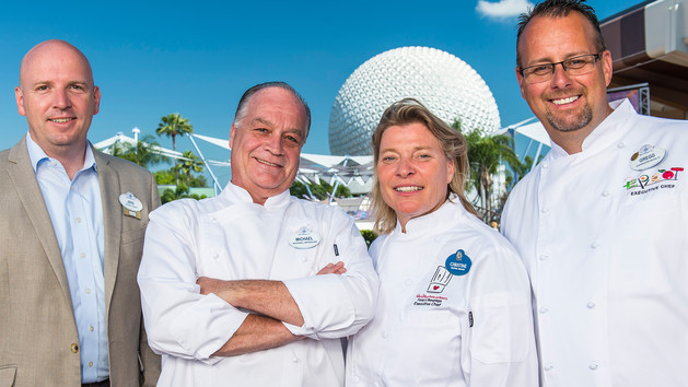 Epcot Food and Wine Festival Epcot chefs