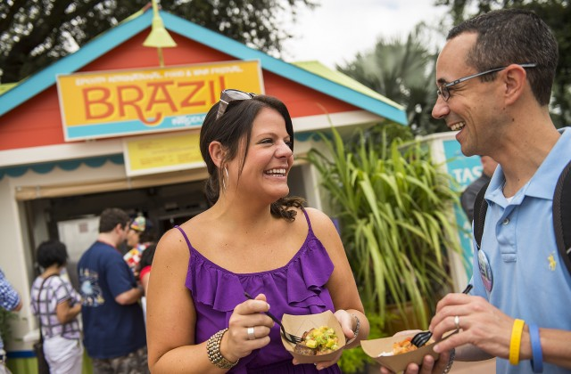 Epcot Food and Wine - Global Marketplace