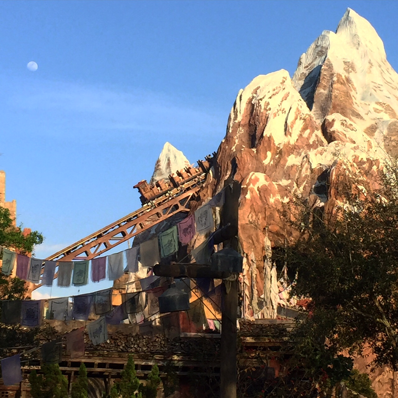 Wordless Wednesday Disney's Animal Kingdom Expedition Everest