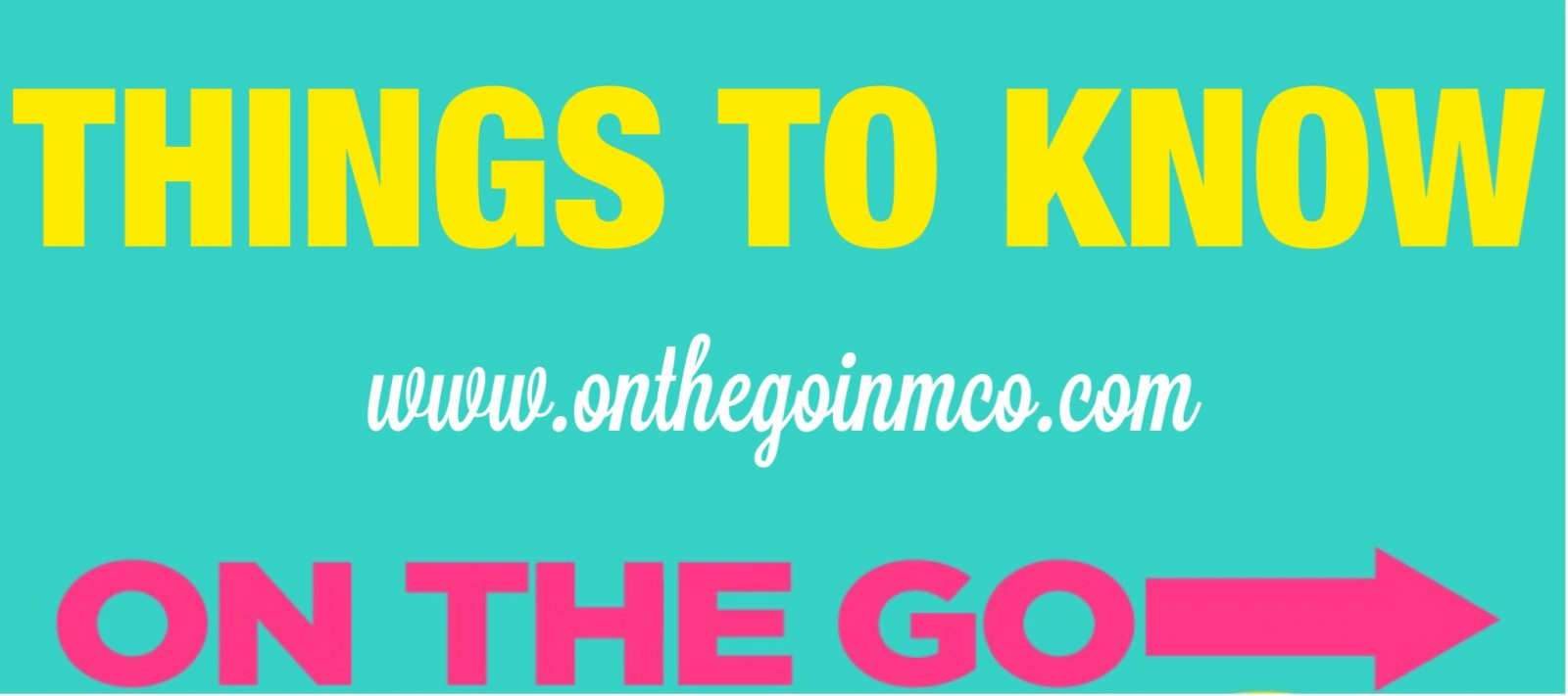 Things to Know On the Go Header Mickey's Not So Scary Halloween Party Epcot Food and Wine Festival