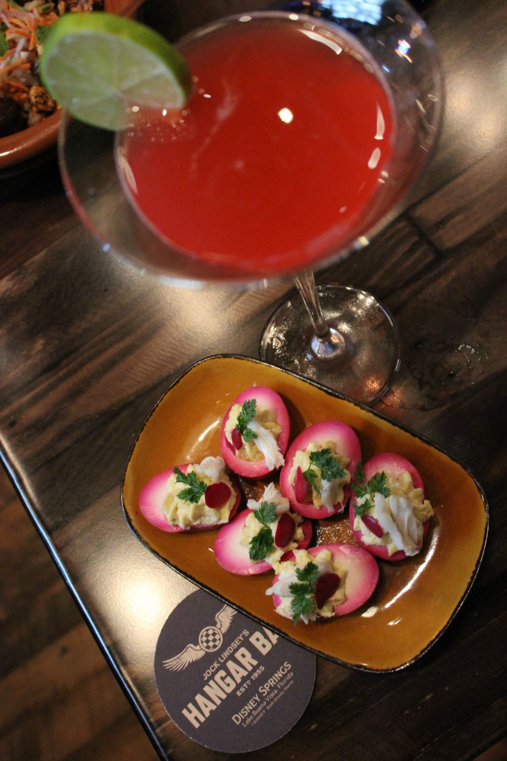 Jock Lindsey's Hangar Bar - Anything goes and She-Deviled Eggs