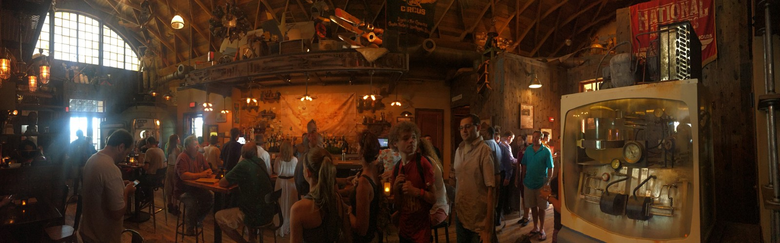 Jock Lindsey's Hangar Bar - Interior Panoramic
