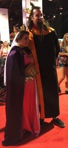 King Stefan and Queen Leah