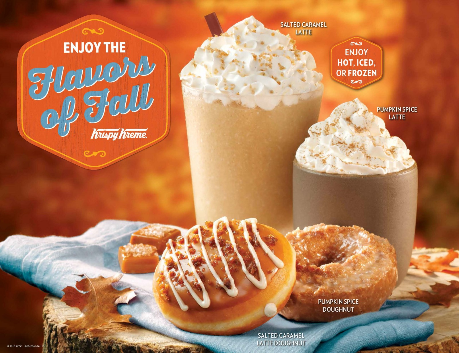 Krispy Kreme Flavors of Fall 2015