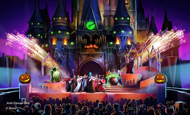 Mickeys Not So Scary Halloween Party Hocus Pocus Concept Art