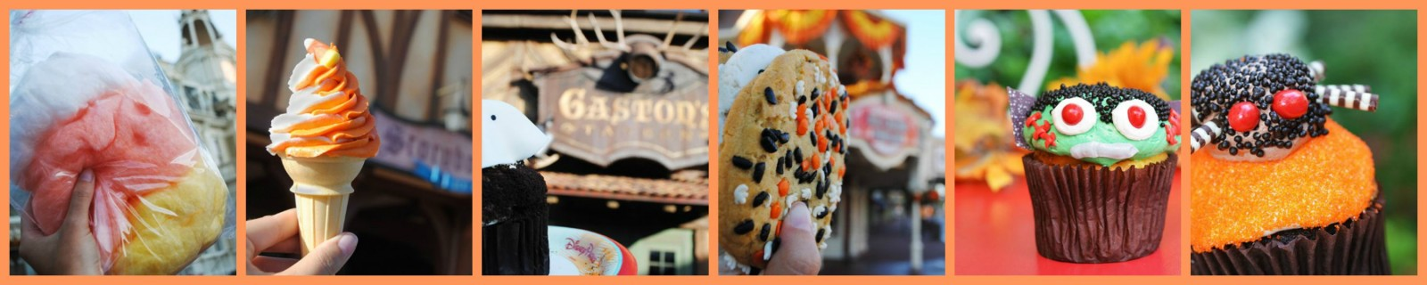Mickeys Not So Scary Halloween Party Treat Collage