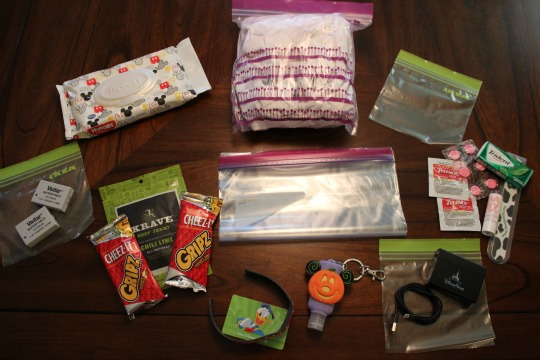 Packing a Mickey's Not So Scary Halloween Party Bag