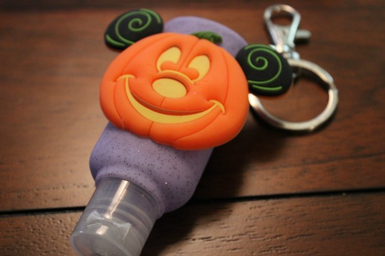 Packing a Mickey's Not So Scary Halloween Party Bag - Hand Sanitizer