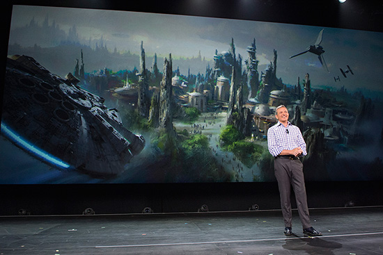 Star Wars Land Expansion - Bob Iger