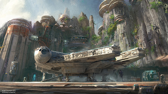 Star Wars Land - Millenium Falcon
