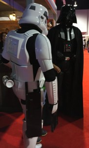 Storm Trooper and Darth Vader
