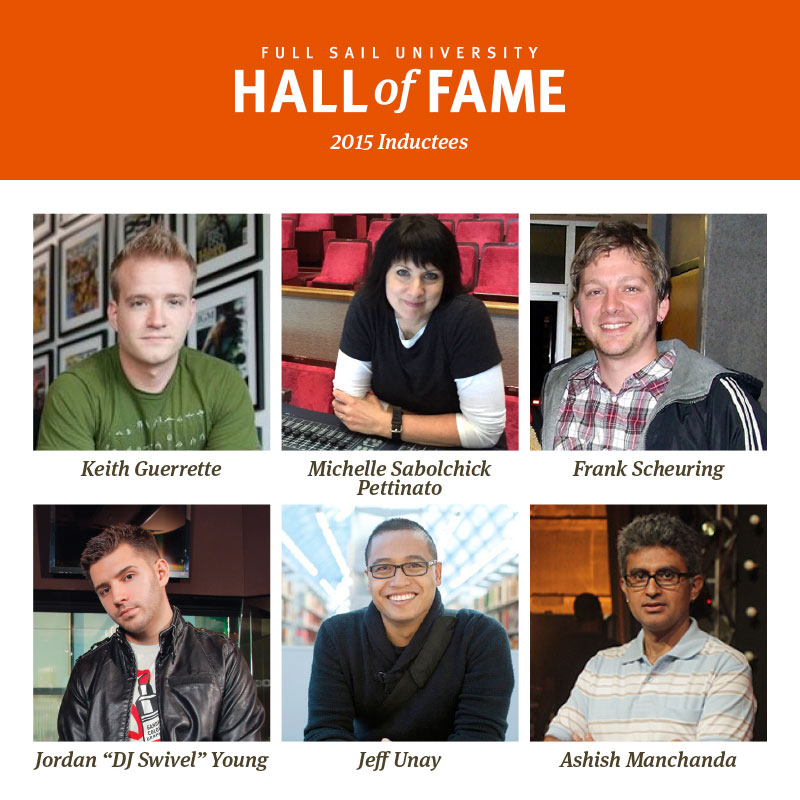 Full Sail University Hall of Fame 2015 Inductees