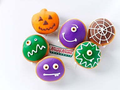 Monster Doughnuts at Krispy Kreme