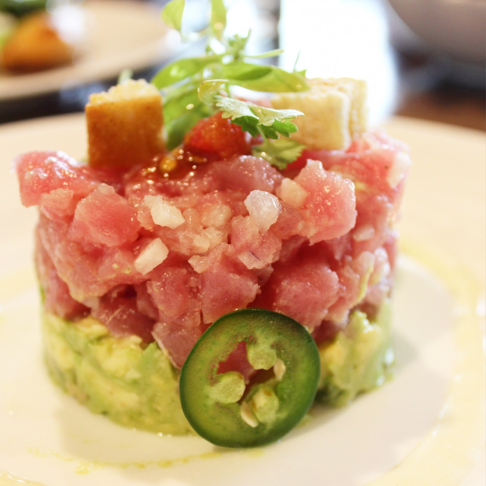Plancha Four Seasons Resort Orlando Tranquilo Golf Course - Tuna Ceviche
