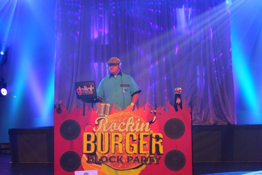 Rockin' Burger Block Party 2015 Epcot International Food and Wine Festival Epcot Food and Wine Festival