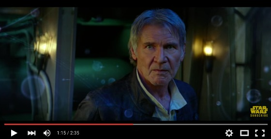 Star Wars The Force Awakens Trailer - Han Solo