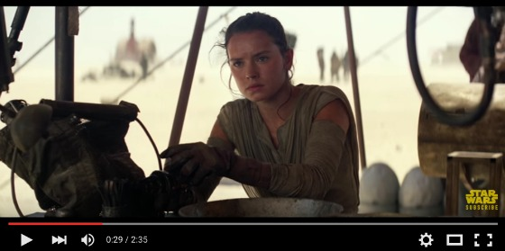 Star Wars The Force Awakens Trailer - Rey