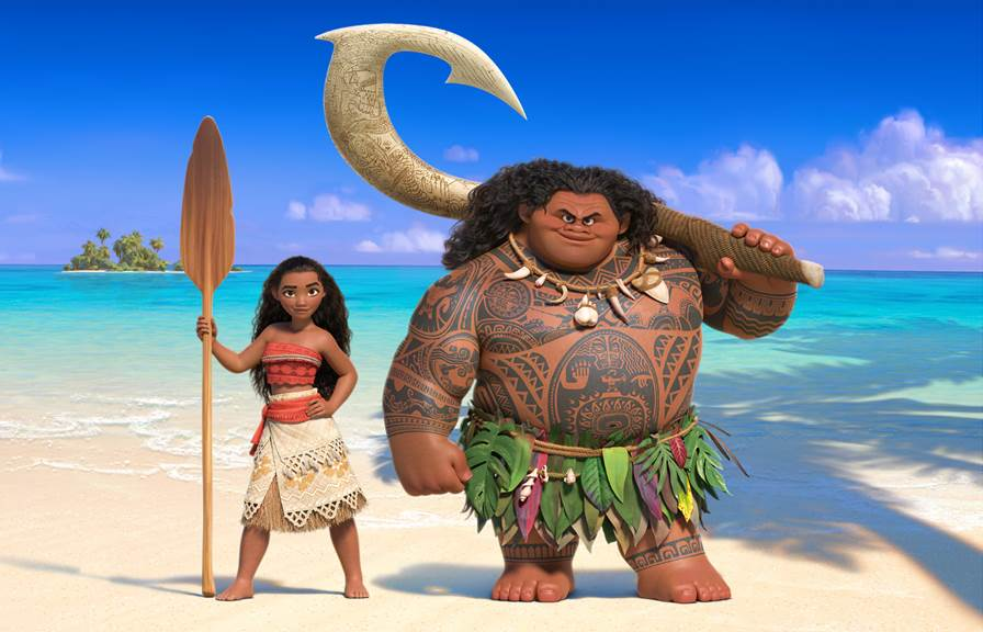 Walt Disney Animation Studios Moana Image Disney Twenty-Three Winter 2016 Issue D23 Disney
