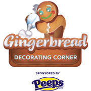 Christmas at the Gaylord Palms - Gingerbread Decorating Corner