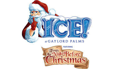 ICE! Gaylord Palms Twas the Night Before Christmas Sneak Peek - ICE! at the Gaylord Palms Logo