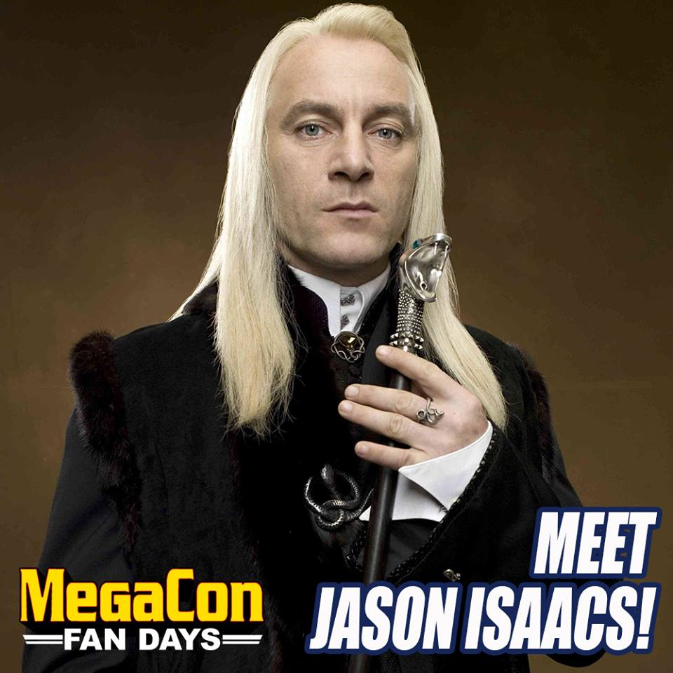 MegaCon Fan Days Jason Isaacs