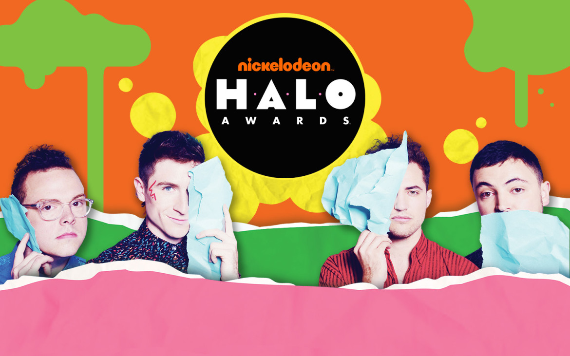 Nickelodeon Halo Awards Universal Orlando Resort Walk the Moon