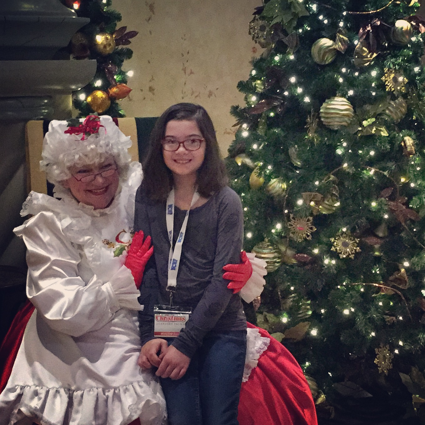 Christmas at Gaylord Palms 2015 ICE! - Breakfast with Mrs. Claus