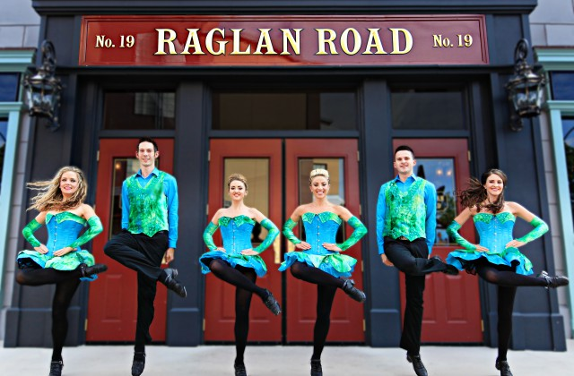 Raglan Road Great Irish Hooley 2019 Raglan Road Bar Disney Springs Walt Disney World Mighty St. Patrick's Day Festival Raglan Road Disney Springs 2020