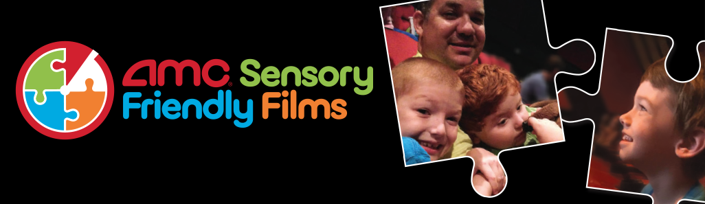 AMC Sensory Friendly Films Header