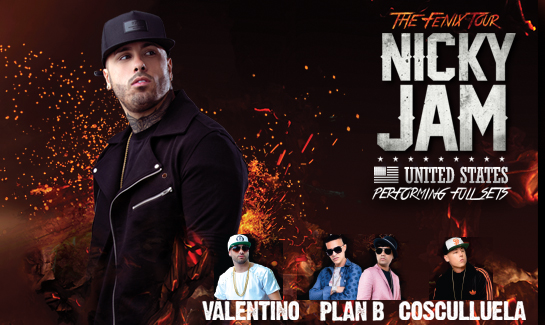 Rumba Bash Presents Nicky Jam Fenix Tour At The Amway Center