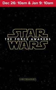 AMC Sensory Friendly Films Star Wars The Force Awakens