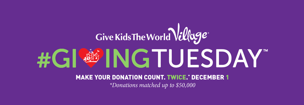 Give Kids the World #GivingTuesday 2015 Logo