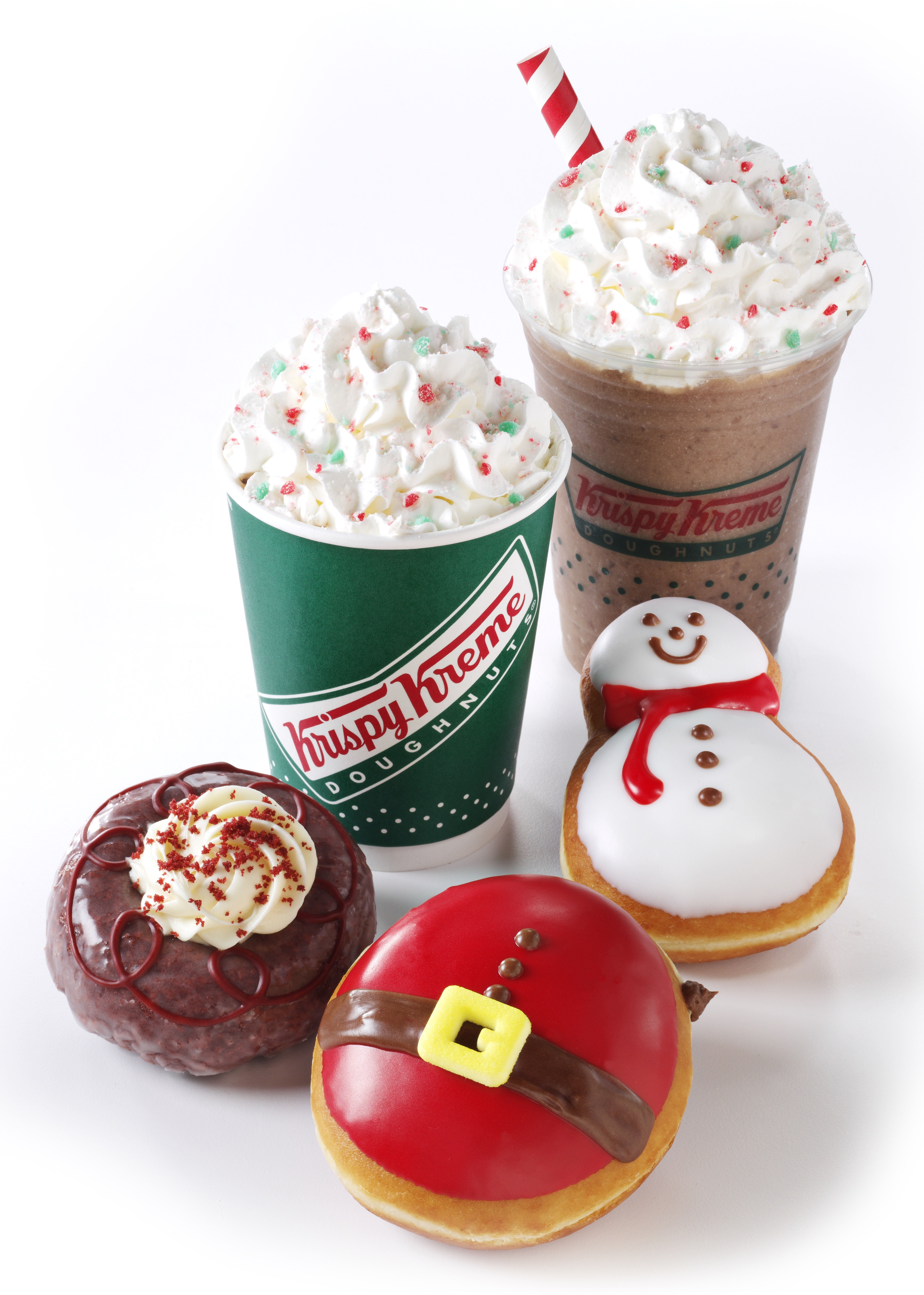 Krispy Kreme Holiday Donuts 2019: When Can You Try the New ... |Christmas Krispy Kreme Doughnuts