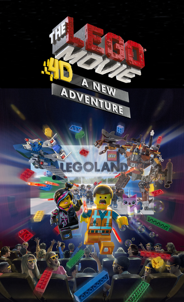 LEGOLAND Florida The LEGO Movie 4D A New Adventure