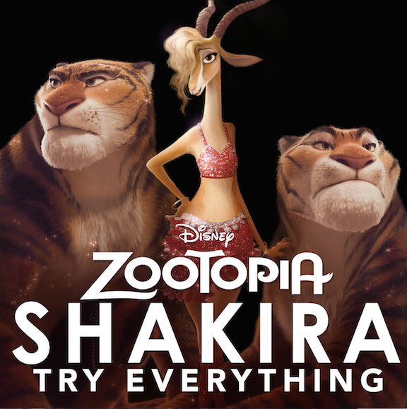 "Shakira Original Song For #Zootopia ""Try Everything"""
